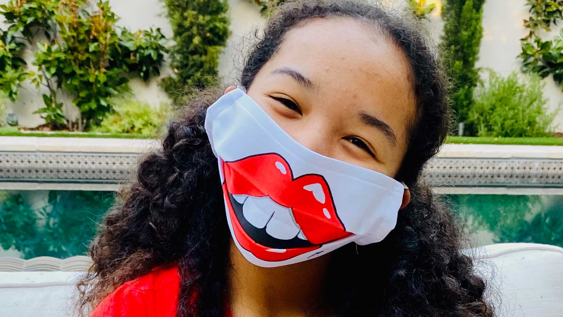 Manhattan Beach Teens Make Laughter-Inducing Masks for Charity
